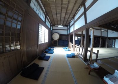 Zen Temple Meditation Room