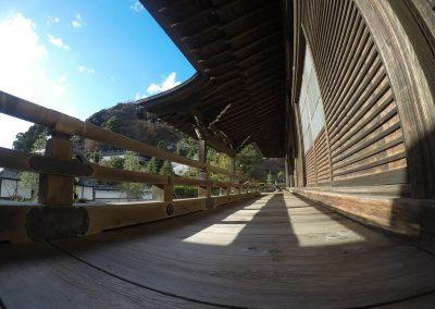 Zen Temple Front Corridor