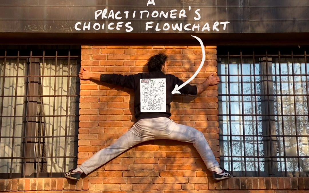 A practitioner's choices flowchart